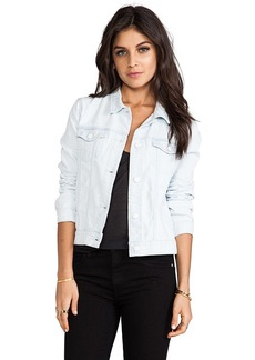 J Brand Classic Jacket in Baby Blue