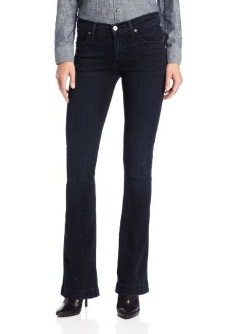 James Jeans Women's Juliette Slim Trumpet Leg Jean in Bombshell
