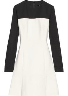 Tibi Anson color-block crepe dress