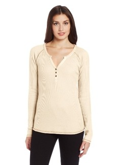 Lucky Brand Women's Celine Henley Thermal