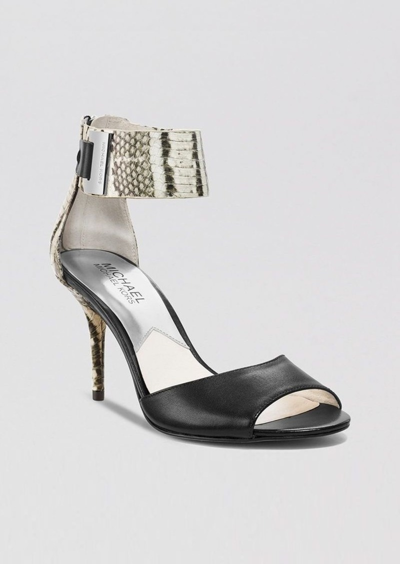MICHAEL Michael Kors Open Toe Ankle Strap Sandals - Guiliana