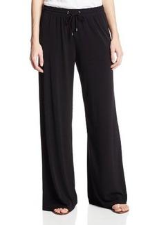 Calvin Klein Women's Jersey Wide Leg Pant