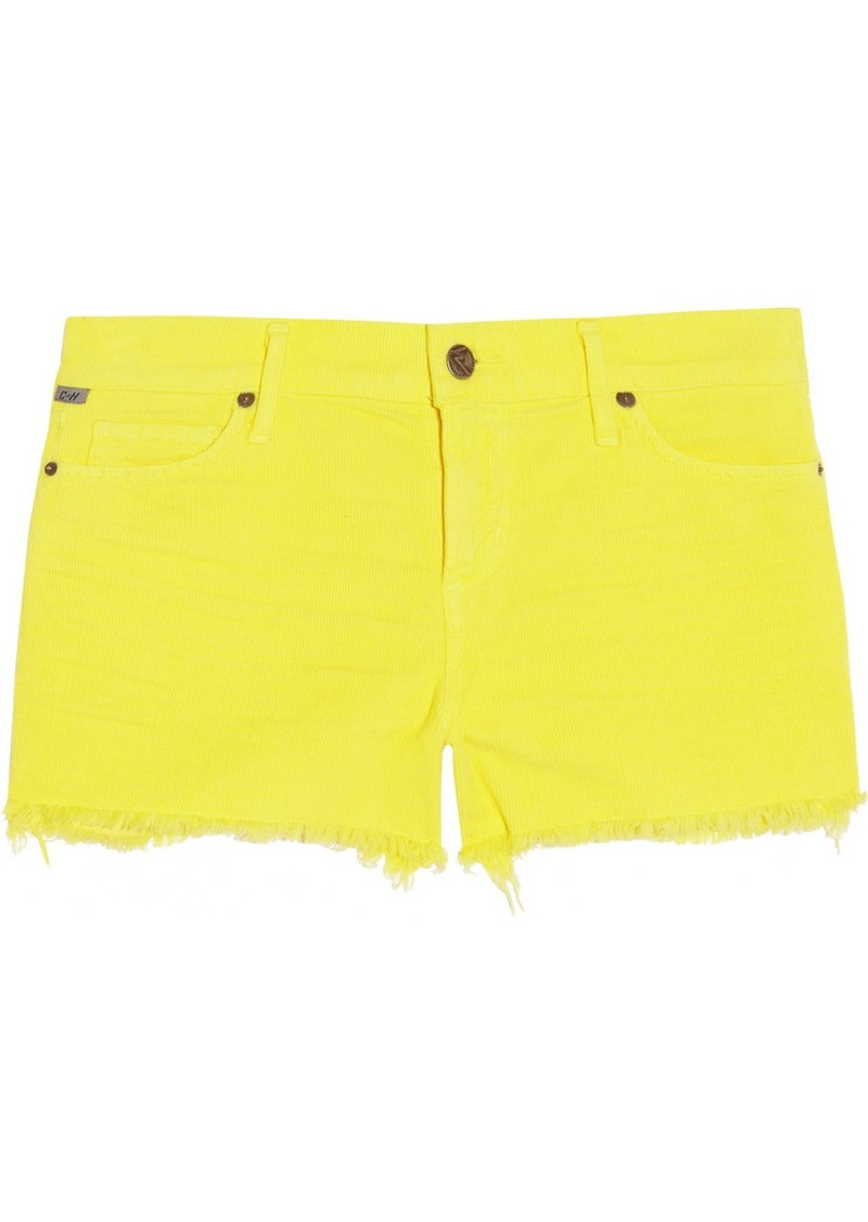 Citizens of Humanity Ava low-rise cut-off corduroy shorts