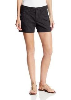 Calvin Klein Jeans Women's Linen Utility Short