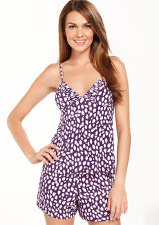 Alfani Slinky Knit Camisole and Pajama Shorts Set