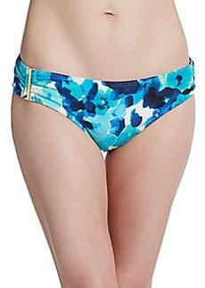 Calvin Klein Swim Printed Bikini Bottom