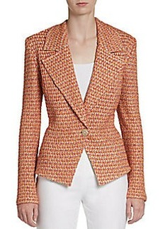 St. John Kensington Tweed Jacket
