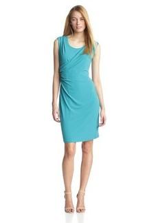 Calvin Klein Women's Double-Layer Wrap Dress