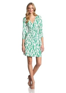 Laundry by Design Women's Jersey-Wrap Dress
