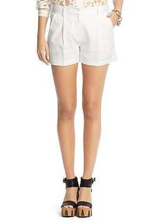 Naples Stretch Linen Shorts