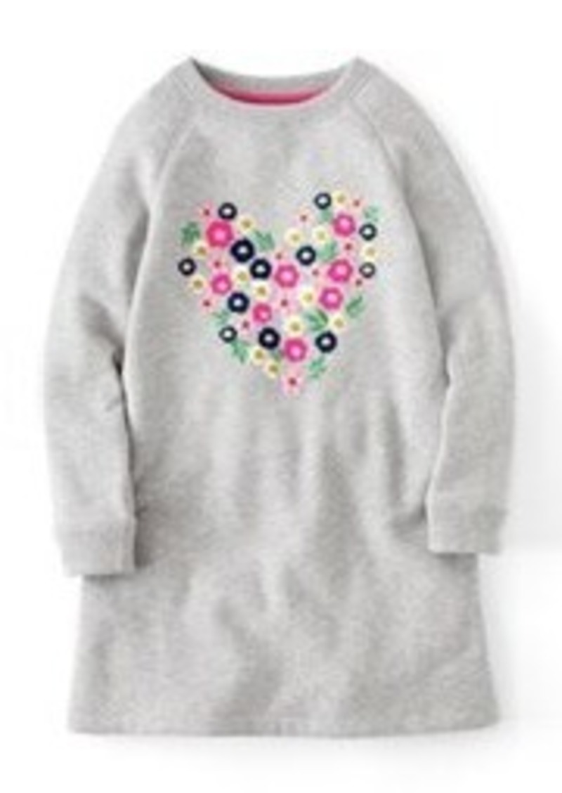 Mini boden mini boden embellished sweatshirt dress for Mini boden sale deutschland