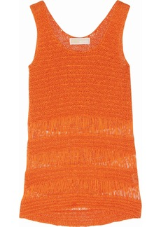 MICHAEL Michael Kors Crochet-knit cotton-blend tank