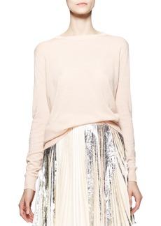 Proenza Schouler Long-Sleeve Merino Pullover
