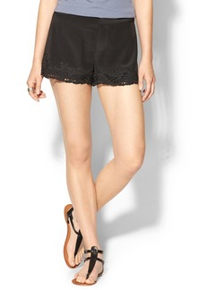 Joie Marki Silk Shorts