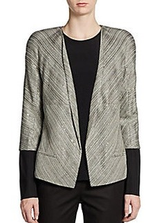 Lafayette 148 New York Sequined Tweed Jacket