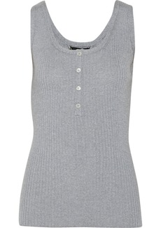 Burberry Prorsum Ribbed wool tank