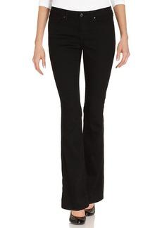 DKNY Jeans Petite Jeans, Curvy-Fit Slim Boot, Caviar Wash