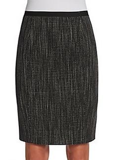 Elie Tahari Molly Tweed Pencil Skirt