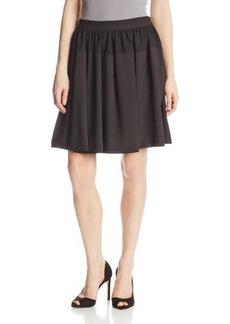 Calvin Klein Women's Solid Circle Skirt