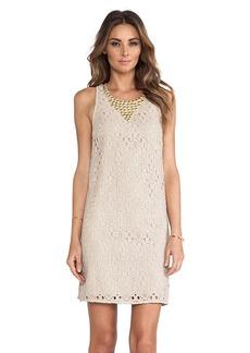 Trina Turk Avalon Dress in Taupe