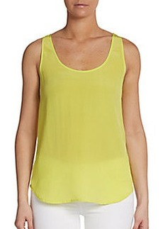 French Connection Prism Silk Tank Top