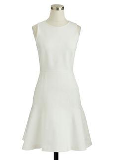 Paneled flare dress