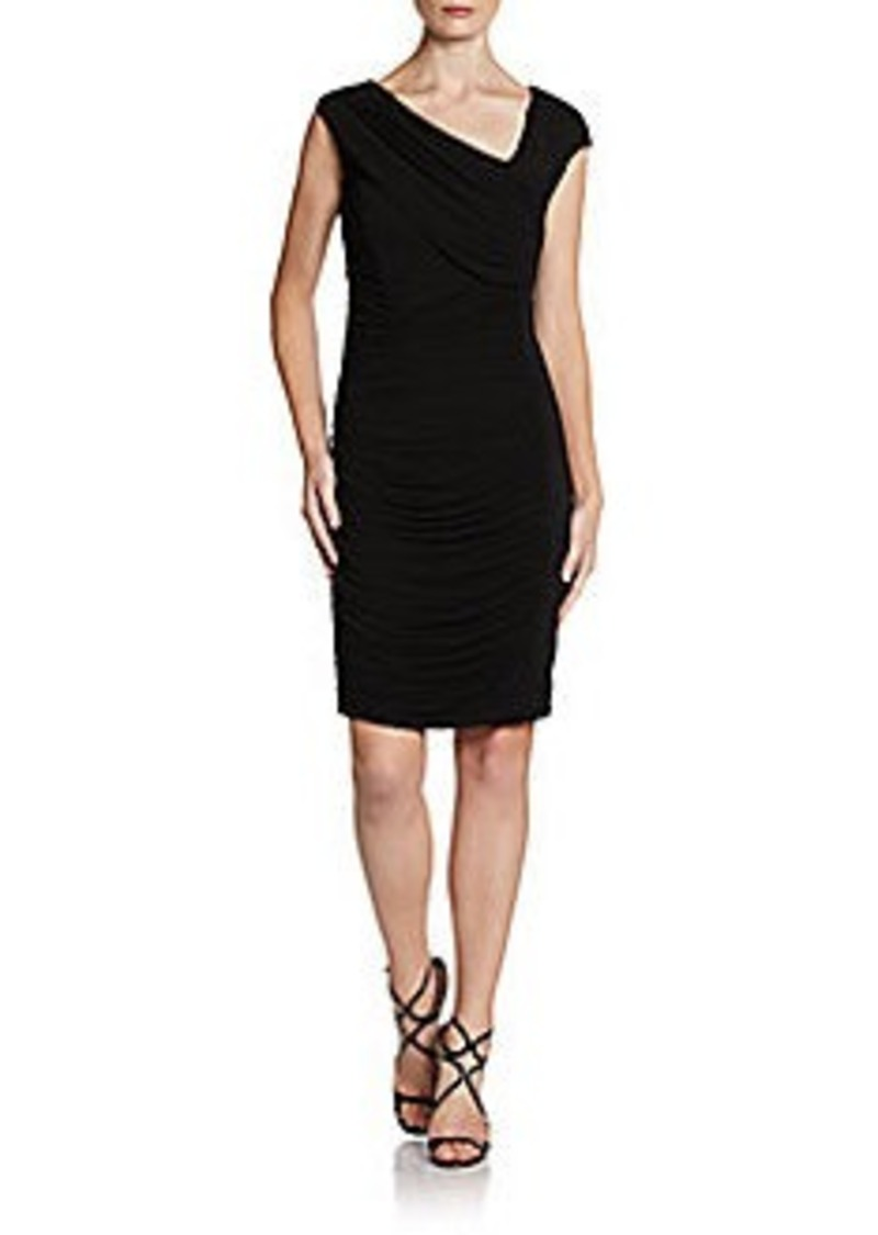 Catherine Malandrino Draped Knit Dress