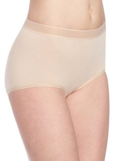 Wacoal Women's Cotton Suede Tailored Brief Panty