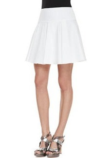 Nanette Lepore Bliss Pleated Twill Full Skirt