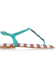 M Missoni Color-block leather sandals
