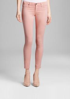 AG Adriano Goldschmied Jeans - Legging Ankle Zip in Pink Haze