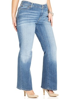 Levi's® Plus Size 590 Fuller Waist Bootcut Jeans, Valley Blues Wash