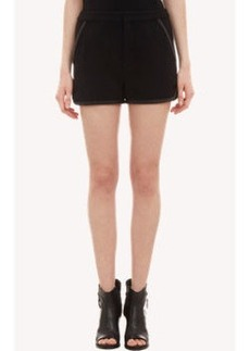 Rag & Bone Leather-Trimmed Platini Shorts