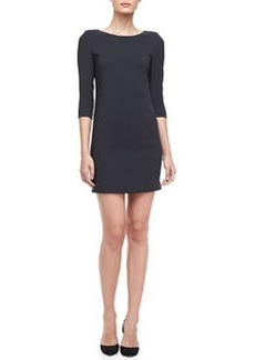 Fitted Crepe Dress   Fitted Crepe Dress