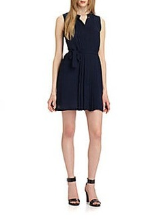 Diane von Furstenberg Lizzie Pintuck Dress