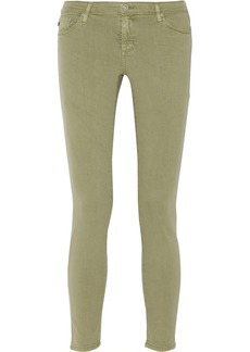 AG Jeans The Legging Ankle low-rise skinny jeans