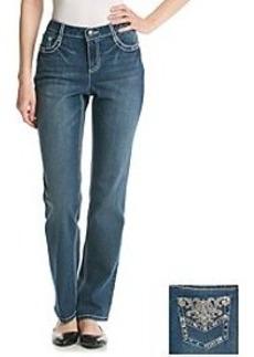 Earl Jean® Embellished Flat Back Pocket Jeans
