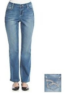 Earl Jean® Thick Stitch Swirl Boot Cut Jeans