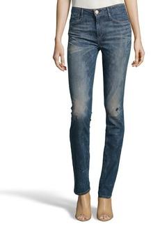 Earnest Sewn cort wash stretch cotton blend distressed denim 'Zazo' jeans