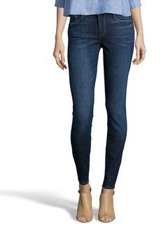 Earnest Sewn mccoll dark blue denim 'Esra' mid-rise skinny jeans