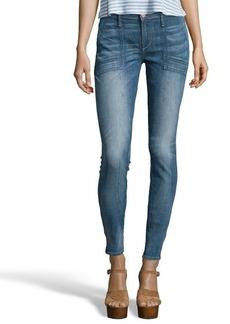 Earnest Sewn valen denim 'Harlan Zip' cigarette leg jeans