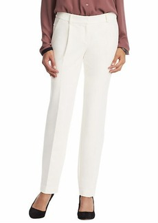 Tall Marisa Straight Leg Pants in Winter White Twill