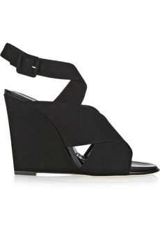 Diane von Furstenberg Wynne suede wedge sandals