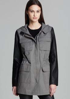DKNY Cassidy Cotton Cargo Coat