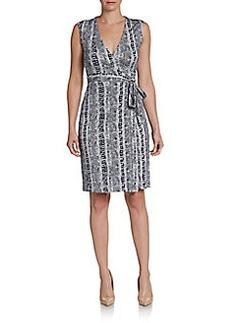 Diane von Furstenberg New Yahzi Short Wrap Dress