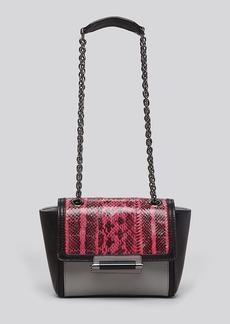 DIANE von FURSTENBERG Shoulder Bag - Mini 440 Colorblock Snake