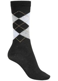 ECCO City Trouser Argyle Socks - Crew (For Women)