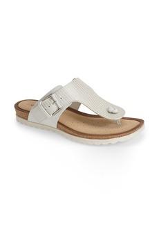 ECCO 'Dagmar' Leather Thong Sandal (Women)