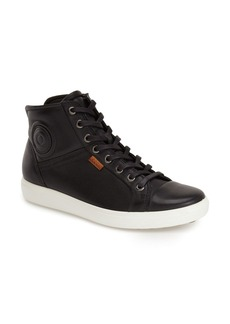 ECCO 'Soft 7' High Top Sneaker (Women)