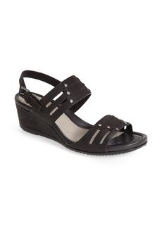 ECCO 'Touch 45' Nubuck Wedge Sandal (Women)
